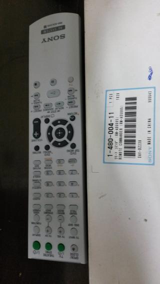 Controle Remoto Rm-adu005 P/ Home Theater Sony Dav-dz230