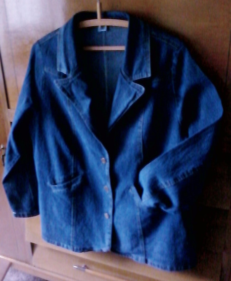 Saco Jeans Mujer Xl