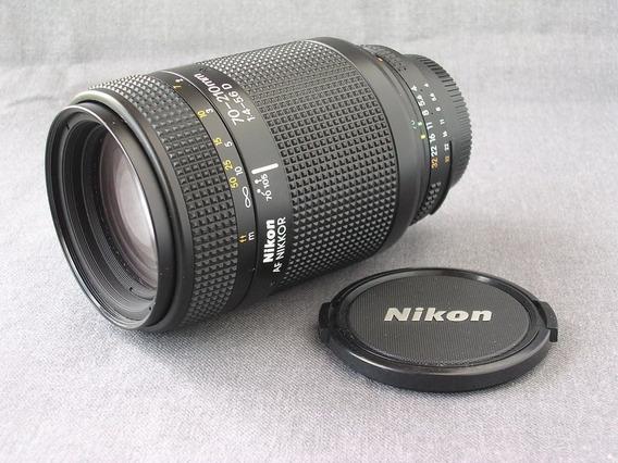 Lente Nikon 70-210mm F/4-5.6 D | Foco Manual