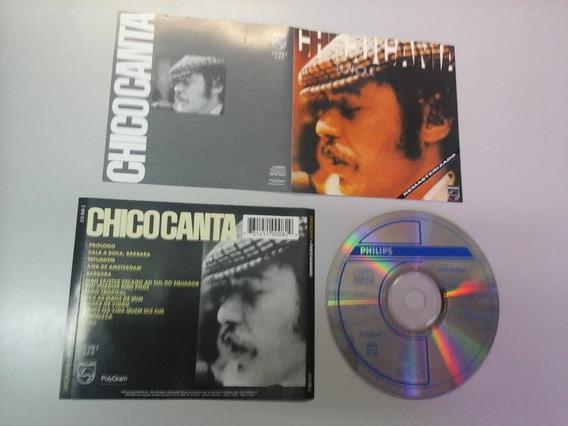 Cd Chico Buarque - Chicocanta