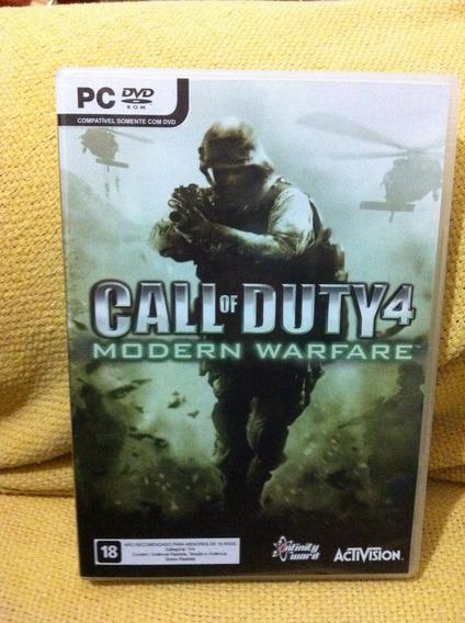 Call Of Duty 4 Modern Warfare Para Pc/aceito Proposta