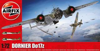 Avião Dornier Do17z 1/72 Airfix Kit Plastimodelismo