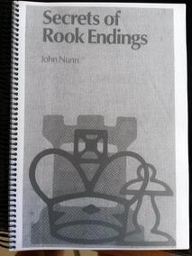 Xadrez Secrets Of Rook Ending John Nunn 360 Pag