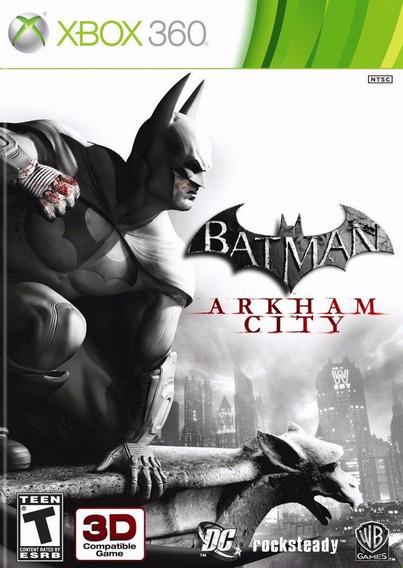 Batman Arkham City Xbox 360 - Mídia Física | Playgorila