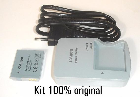 Carregador + Bateria Original Canon Sx510 Sx170 S200hs Nb-6l