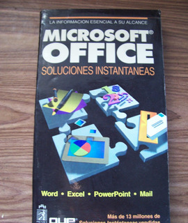 Microsoft Office,soluciones Instantáneas-edit-prentice Hall
