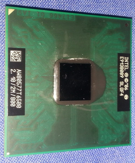 Processador Intel Core 2 Duo 2.10 / 2m T6500 Aw80577t6500