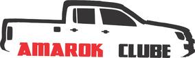 Kit 3x Adesivo Clube Da Amarok Carro Personalizado 15cm A226