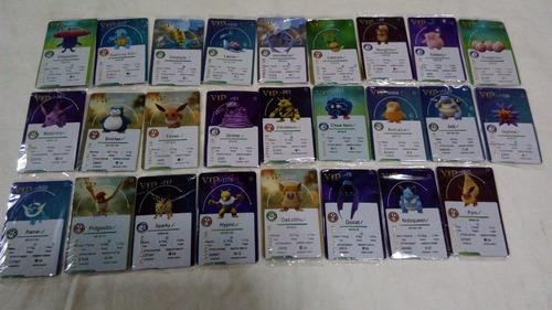 Pokemon Go Cards Vip (plastico Duro Tipo Credit Cards)