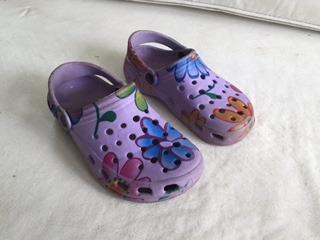 Crocs Artisticas Talle 12,13 Plantilla 19 Cm !!!