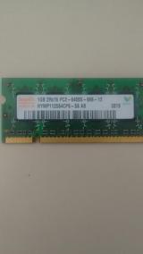Memoria Notebook 1gb 2rx16 Pc2 -6400s - 666 - 12
