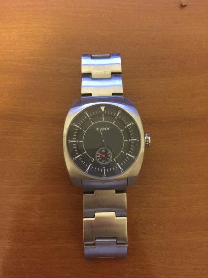 Relógio Masculino Dkny Metálico , Usado