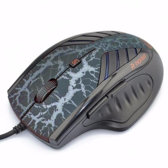 Mouse Games Emborrachado Super Sensitivo 3200dpi