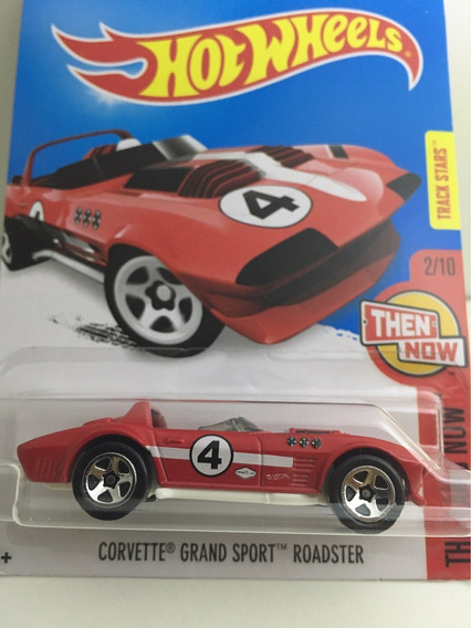 Hot Wheels Corvette Grand Sport Roadster - Vermelho