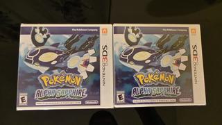 Pokemon Alpha Sapphire 3ds Nuevo, Sellado