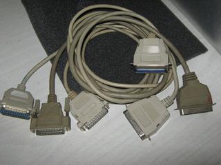 Cables Para Impresora Paralela 1,5mts C/u