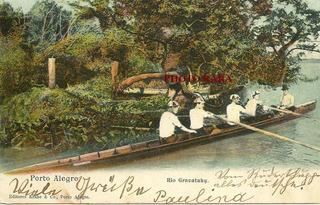 Cartão Postal Porto Alegre-rio Gravataí- Início Do Século Xx