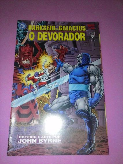 Hq Darkseid Vs Galactus O Devorador Raro Gibi Ed Abril