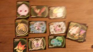 36 Figuritas Pokemon