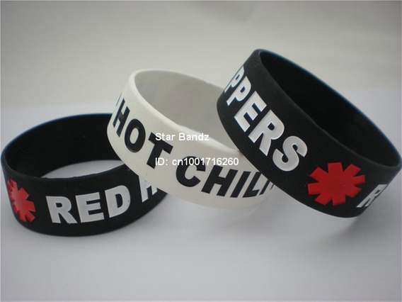 Pulseira Silicone - Red Hot Chili Peppers. (frete R$ 10,00)