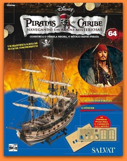 Piratas Do Caribe Número 64 Salvat