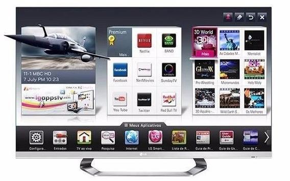 Tv Lg Led 47 Cinema 3d Smart Tv + Sus Lentes 3d