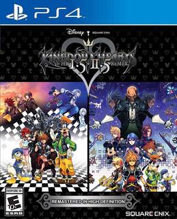 Kingdom Hearts Hd 1.5 + 2.5 Remix Ps4 Sellado Delivery Incl.