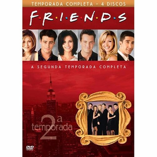 Box Friends 2ª Temporada Completa (4 Dvds) Original Seminovo