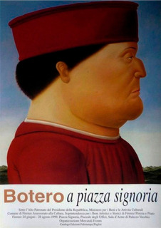 Afiche Poster Piero Della Francesca 1 - Fernando Botero