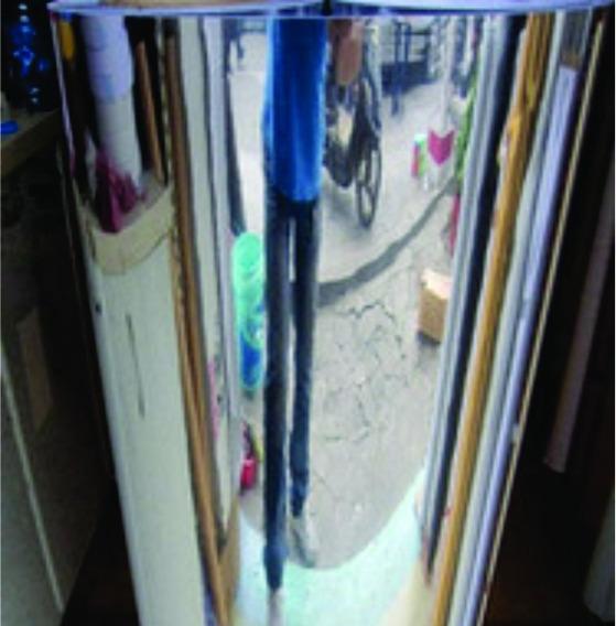 Adesivo Vinil Cromado Espelhado Geladeira Amarios 1 M X 1 M