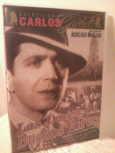 Dvd Carlos Gardel(las Luzes De Buenos Aires)único E Original