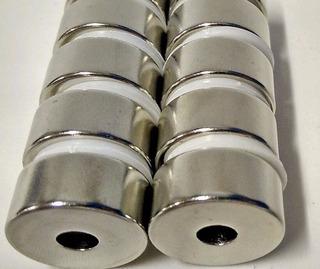 Imã De Neodímio N45 22mm X 6,5mm X 10mm - 10pçs Super Forte