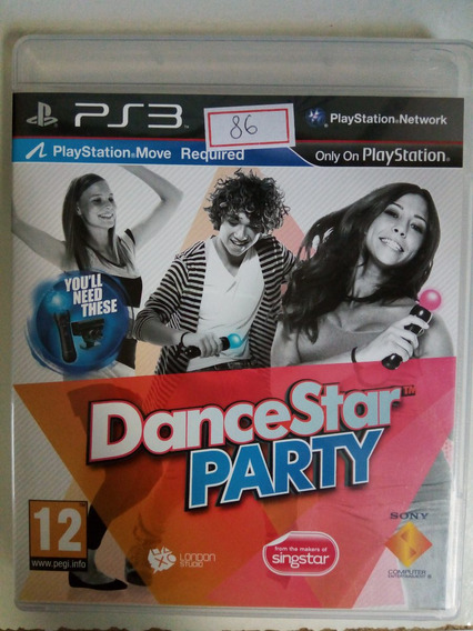 Jogo Sony Ps3 Dance Star Party Original Lote86