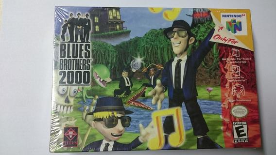 Nintendo 64 Blues Brothers 2000 Novo Lacrado Americano