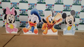 30 Display De Mesa 25 Cm Pvc,toten,painel Mickey,vingadores