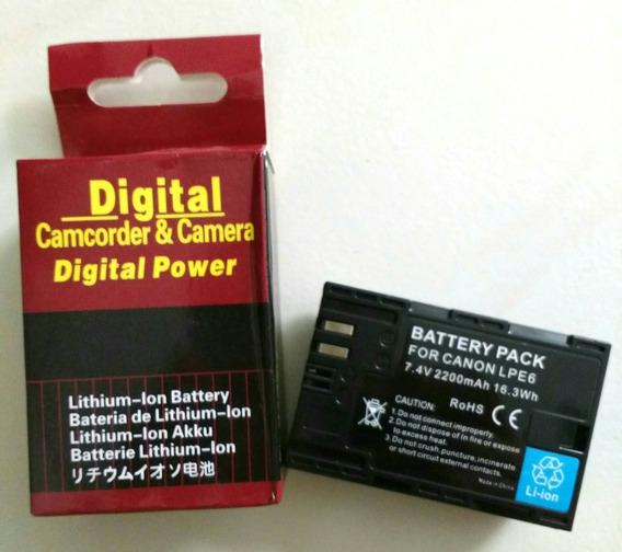 Bateria Lp E6