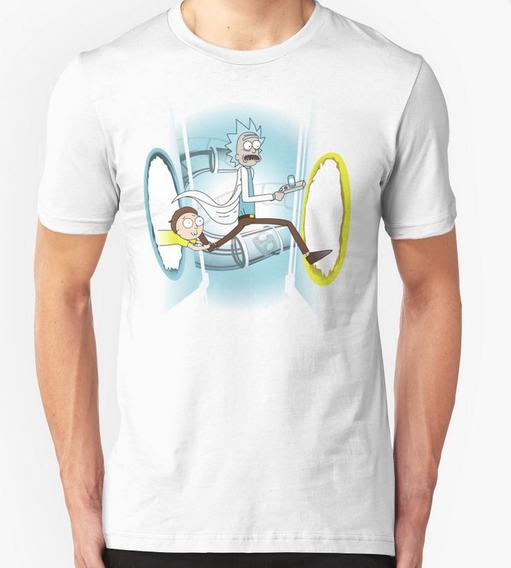 Rick And Morty Portal Playera Personalizada