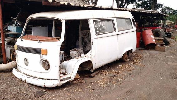 Vw Volkswagen Perua Kombi Sucata 1999 Nao Vendemos Pecas
