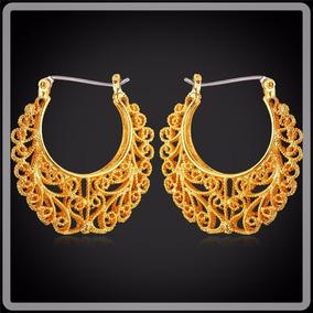 Brincos Feminino Banhado A Ouro 18k Moda Jóias