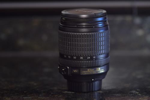Nikon Af-s Nikkor 18-105mm F/3.5-5.6g Ed Vr + Filtro Cpl