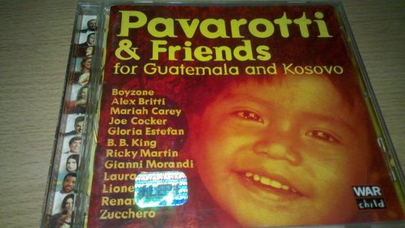 Pavarotti & Friends For Guatemala And Kosovo. Cd Original
