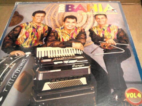 Lp Trio Bahia Vol.4 Minha Mulher Amada 1995 Forró Autografo