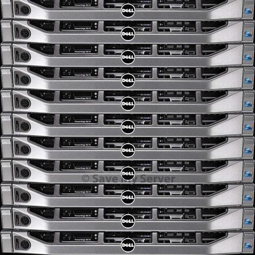 Dell Poweredge R610 2 Six X5660 2.80ghz 16gb Ram 2 Hd 146gb