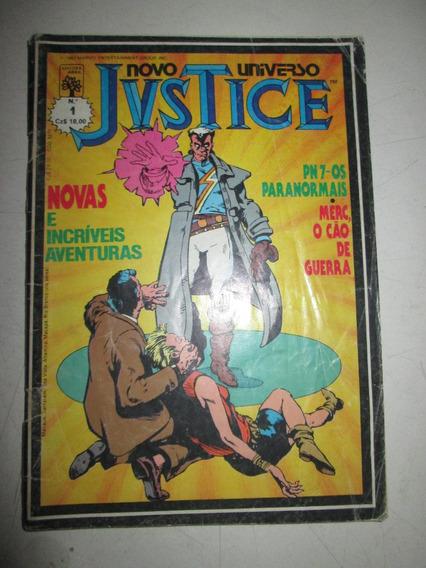 Justice Novo Universo Nº 1 Com Selo Editora Abril