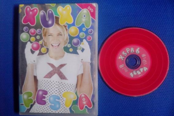 Dvd Original - Xuxa So Para Baixinhos 6 - Xuxa Festa F15