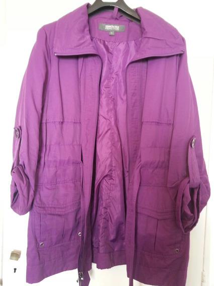 Campera Impermeable Kenneth Cole Nueva T L