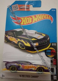 Carrinho Hot Wheels Pro Stock Camaro 1/64 Hot Wheels Mattel