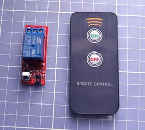 Módulo Relé Controle Remoto Ir Lampada Automação Residencial