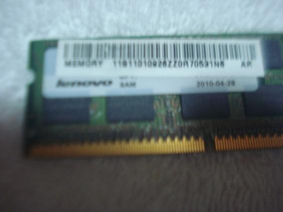 Memoria De Notebook Ddr3 2gb Lenovo