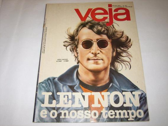 Lennon E O Nosso Tempo - Veja - 17 De Dezembro De 1980